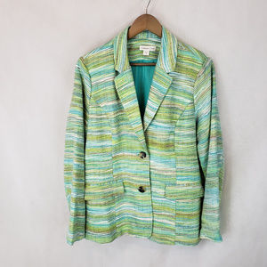 Coldwater Creek Plus 18 Early Spring Blazer